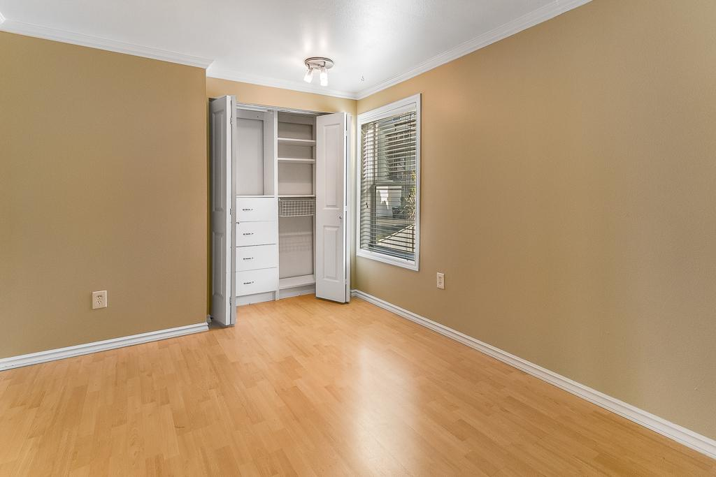 3rd bedroom is smaller and perfect for guests, office, or kid room.